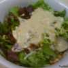 Organic Mixed Baby Greens With Dried Cranberries & Walnuts Salad